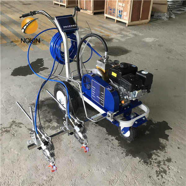 Hand Push Road Marking Machine Road Marking Machinery